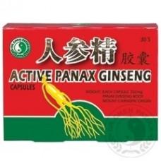 Aktiv Panax Ginseng kapsule