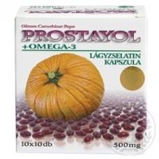 Prostayol kapsula. Olej z tekvicových semien s mastnou kyselinou Omega-3
