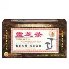 Instantný čaj Shiitake a Ganoderma