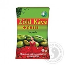 Zelená káva kapsuly s chilli extraktom pre štíhlu líniu