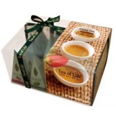Tea of Life - Kolekcia zelených čajov v pyramídkach