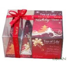 Tea of Life - Vianočná kolekcia cejlónskych pyramídových čajov